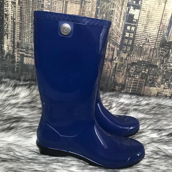 ab878433543 ✨Women's UGG Shaye Blue Jay Rain Tall Boot✨
